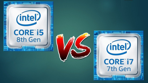 Intel Core i5-8250U vs Intel Core i7-7500U – 8th Gen i5 versus 7th Gen i7