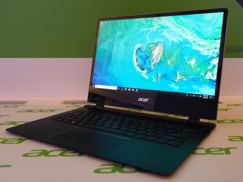 Acer Swift 7 (2018) hands-on review : Laptops don't get any skinnier than this…