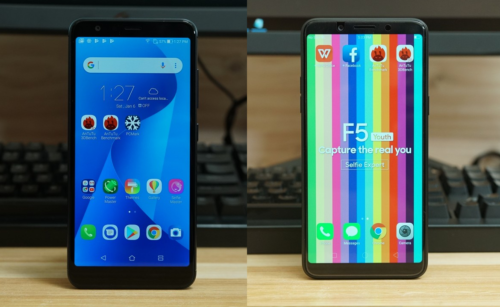 1Q2018 Mid-Range Comparo: ASUS ZenFone Max Plus Vs. OPPO F5 Youth
