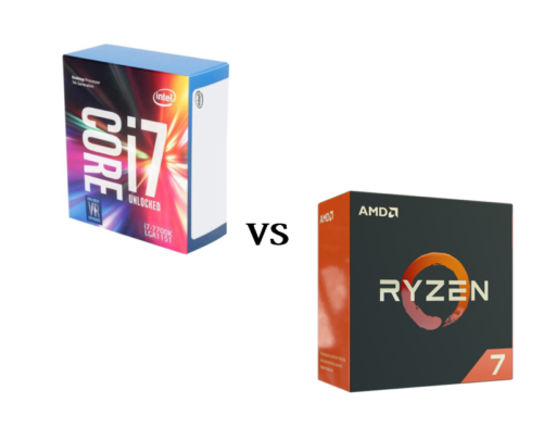 AMD Ryzen 7 1700 vs Intel Core i7-7920HQ – the best laptop CPUs