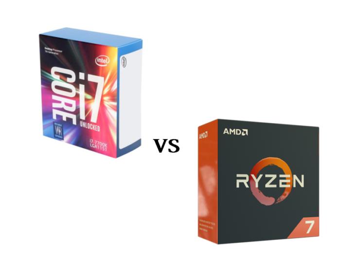 AMD Ryzen 7 1700 vs Intel Core i7-7920HQ – the best laptop CPUs