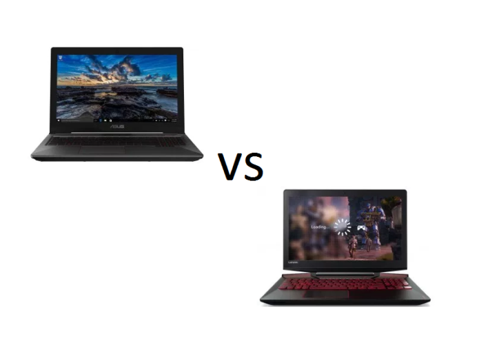 ASUS FX503 vs Lenovo Y720 – what are the differences?