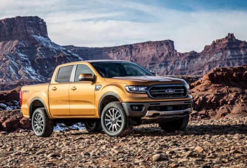 2019 Ford Ranger revealed for North America