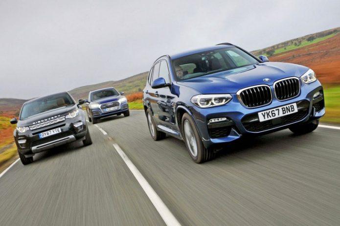 New BMW X Vs Audi Q Vs Land Rover Discovery Sport Comparison - Audi q5 vs bmw x5