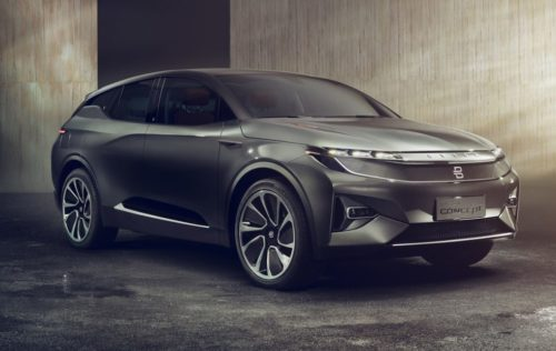 Byton's Concept EV makes the Model X's touchscreen look tiny