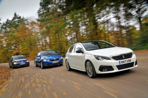 New Skoda Octavia & Volkswagen Golf vs Peugeot 308 Comparison