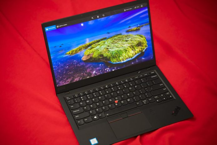 lenovo thinkpad carbon x1 2018 hand on review hdr. Black Bedroom Furniture Sets. Home Design Ideas