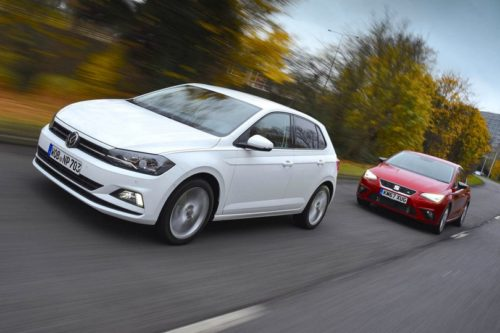 New Volkswagen Polo vs Seat Ibiza Comparison