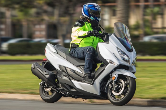 Suzuki Burgman Review
