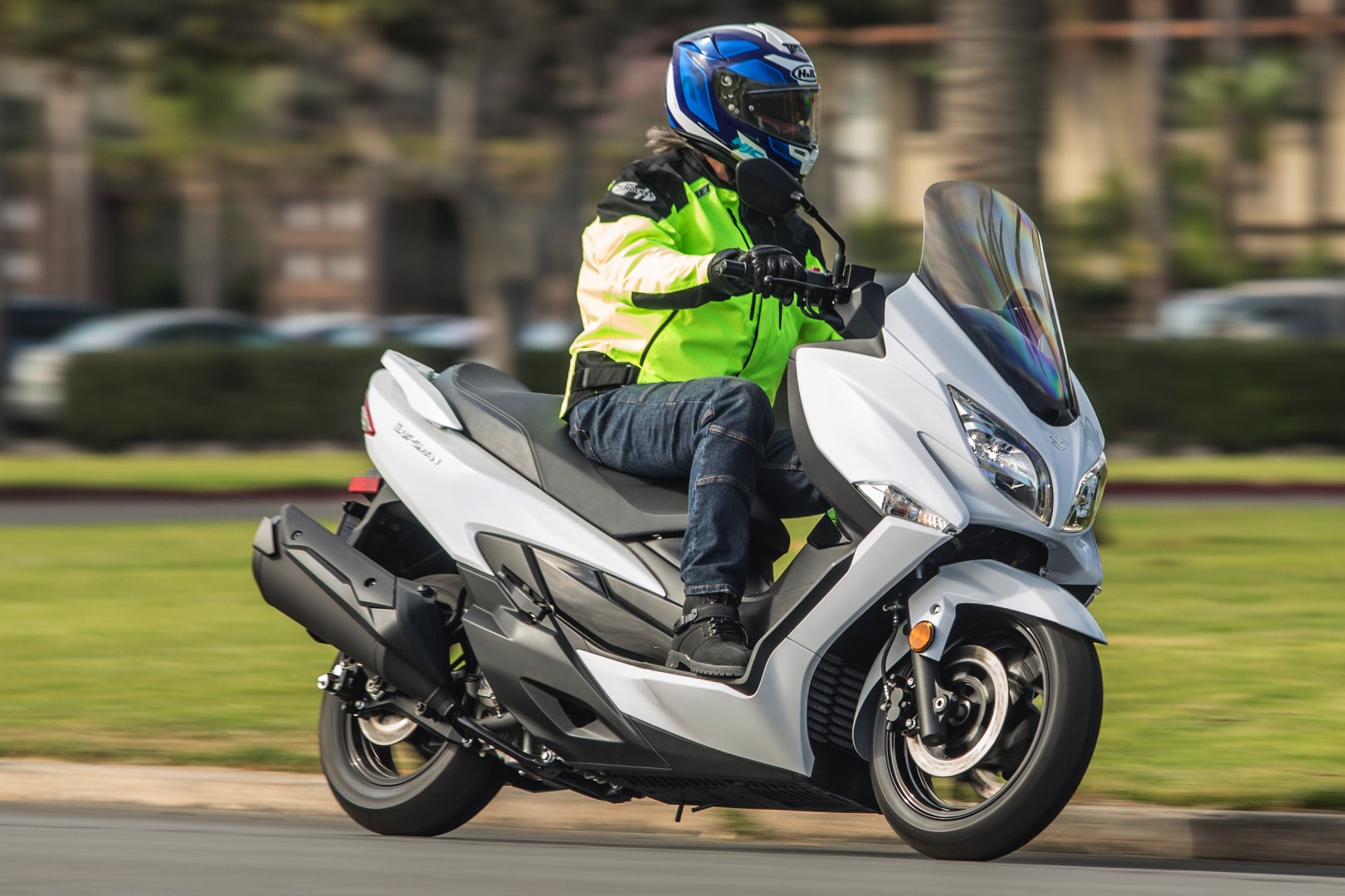 Suzuki Burgman 400 Erfahrungsberichte