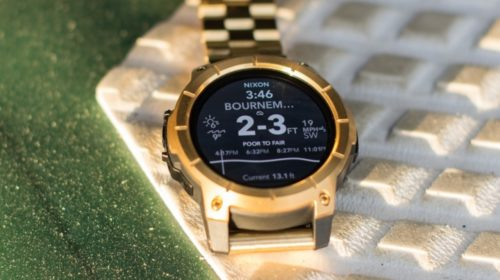 Catching waves: Putting the Nixon The Mission SS to the big surf test