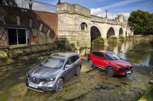 New Renault Koleos vs Mazda CX-5 Comparison