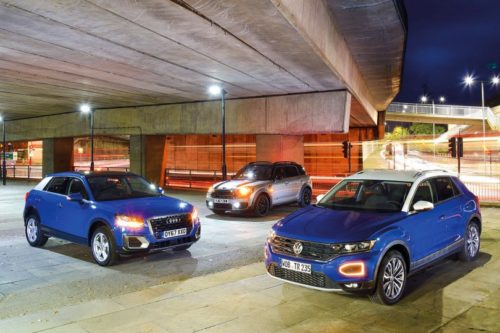 New Volkswagen T-Roc vs Audi Q2 vs Mini Countryman Comparison