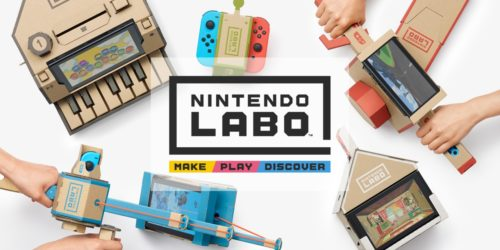 Nintendo Labo first look