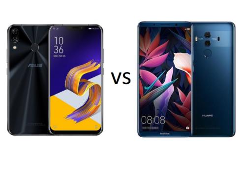 ASUS ZenFone 5Z vs Huawei Mate 10 Pro Specs Comparison