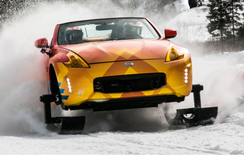 Nissan 370Zki revealed in Chicago : Snowmobile with an open-top twist