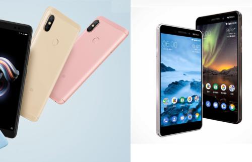 Bang-For-The-Buck Mid-Range Quick Comparison: Xiaomi Redmi Note 5 Pro Vs. Nokia 6 (2018)