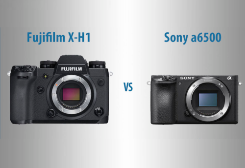 Fujifilm X-H1 vs Sony a6500 – The 10 Main Differences