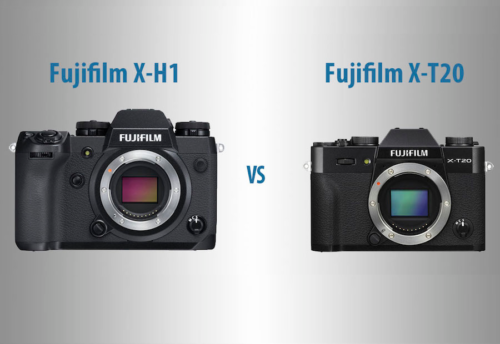Fujifilm X-H1 vs X-T20 – The 10 Main Differences