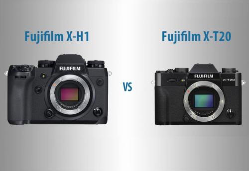 Fujifilm X-H1 vs X-T20 – The 10 Main Differences