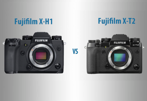 Fujifilm X-H1 vs. X-T2 – The 10 Main Differences