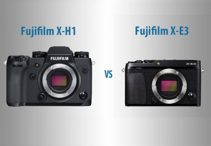 Fujifilm X-H1 vs X-E3 – The 10 Main Differences