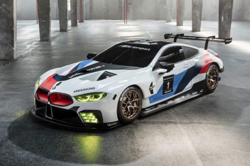 How the BMW M8 GTE got its track teeth