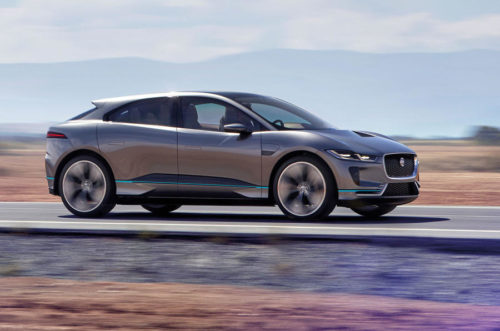 Jaguar I-Pace first drive: Ice driving with the all-electric Jag