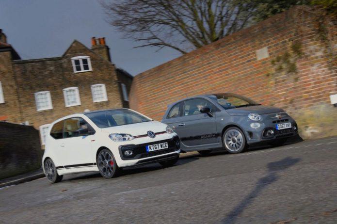 New Volkswagen Up GTI vs Abarth 595 Comparison