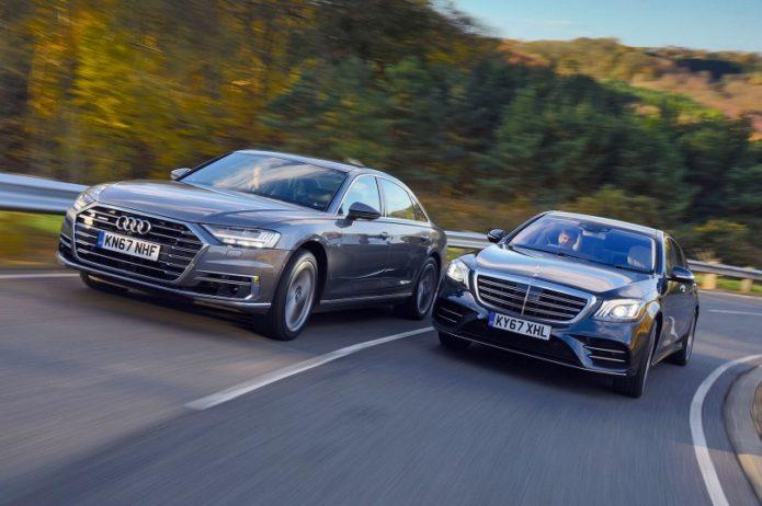 New Audi A8 vs Mercedes S-Class Comparison