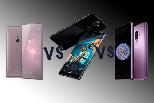 Samsung Galaxy S9 vs Nokia 8 Sirocco vs Sony Xperia XZ2: The MWC flagship face-off!