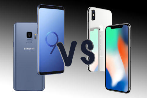 Samsung Galaxy S9 vs Apple iPhone X: Clash of the titans