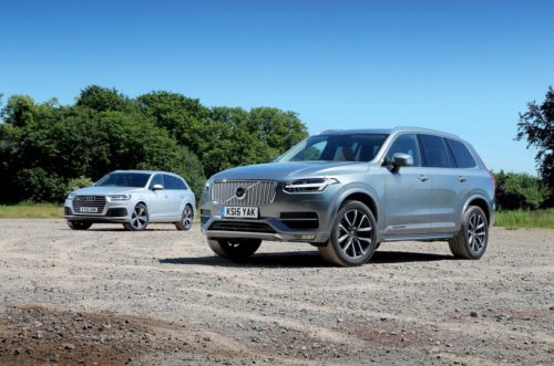 Audi Q7 vs Volvo XC90 review : Used test