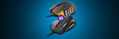 Comparison: Corsair Scimitar Pro RGB vs. SteelSeries Rival 500