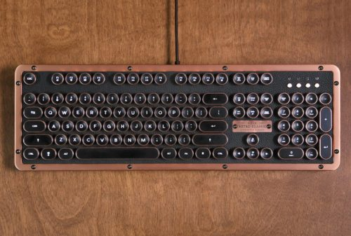 Azio Retro Classic BT review: This vintage mechanical keyboard will delight serious typists