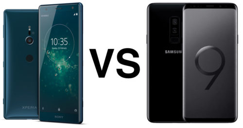 Galaxy S9 vs Xperia XZ2 feature showdown