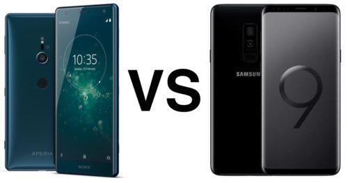 Galaxy S9 vs Xperia XZ2 feature showdown