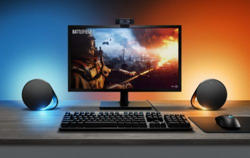 Logitech G adds G560 LIGHTSYNC speakers and G513 keyboard