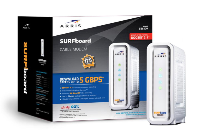 ARRIS SB8200 modem review: Upgrade your network with DOCSIS 3.1