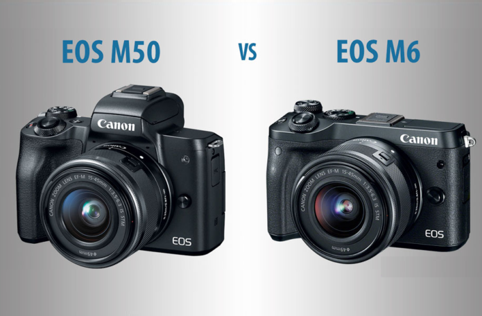 Canon EOS M50 vs M6 – The 10 Main Differences