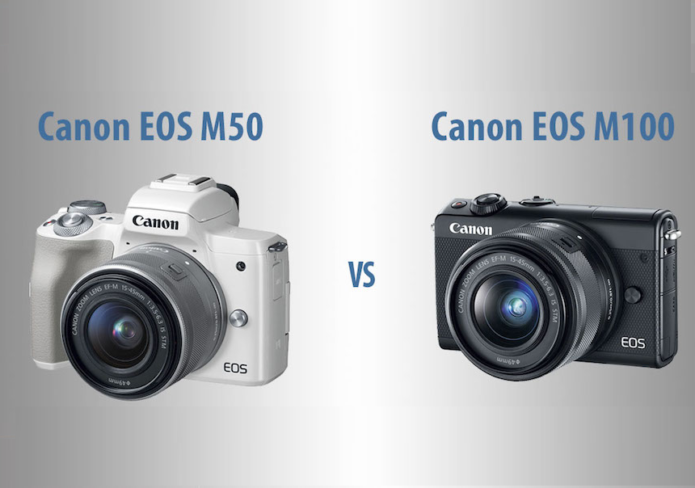 Canon EOS M50 vs M100 – The 10 Main Differences