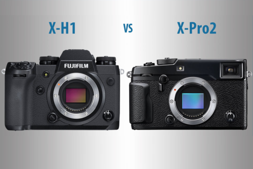 Fujifilm X-H1 vs X-Pro2 – The 10 Main Differences