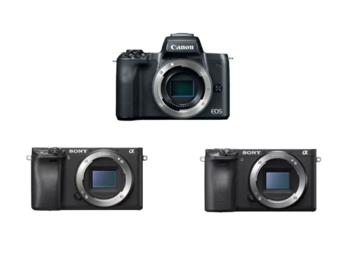 Canon EOS M50 vs Sony a6500 vs a6300 – Comparison