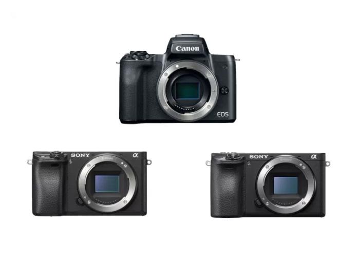 Canon EOS M50 vs Sony a6500 vs a6300 – Comparison