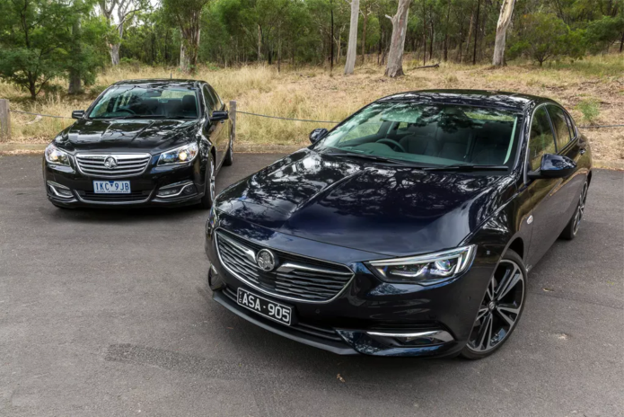 Holden Calais V: Old & New Review : Holden (VF) Calais V v Holden (ZB) Calais V Comparison