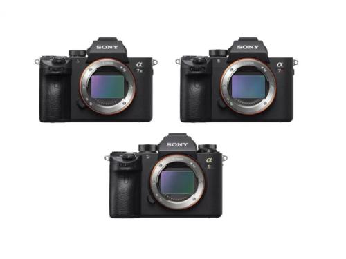 Sony a7 III vs Sony a9 vs Sony a7R III – Comparison