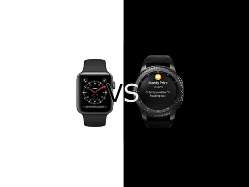 Apple Watch 3 vs Samsung Gear S3 Frontier Comparison