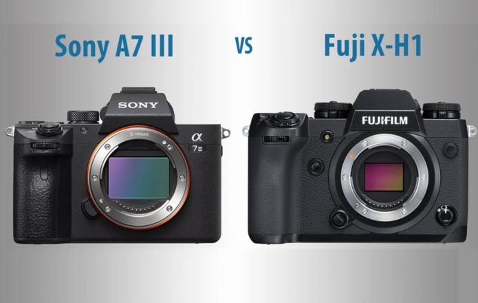 Sony A7 III vs Fujifilm X-H1 – The 10 Main Differences