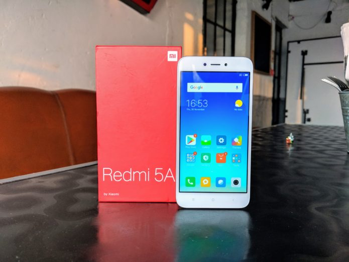 Xiaomi Redmi 5A Hands-on Review : First Impressions