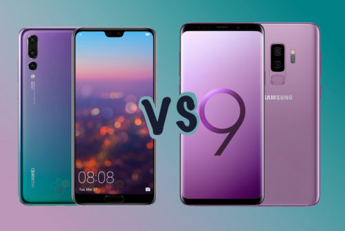 Huawei P20 Pro vs Samsung Galaxy S9+: What's the difference?